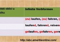 bezlicni glagolski oblici u nemackom