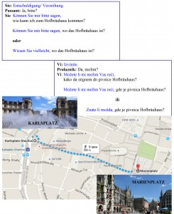 Hofbräuhaus München oder Bitte, können Sie mir helfen