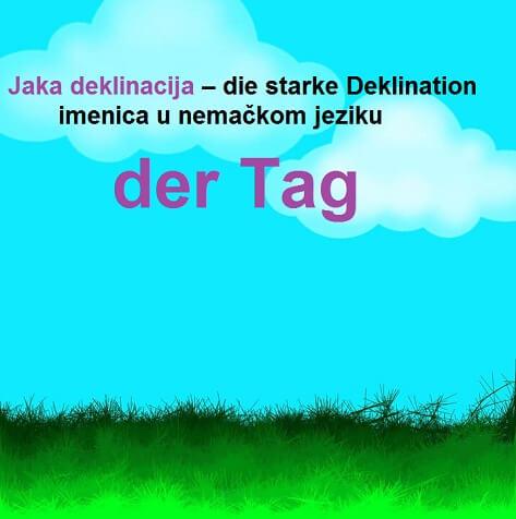 jaka deklinacija imenica u nemačkom jeziku