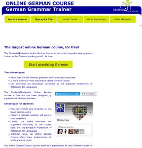 online trener nemački jezik