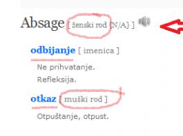 Absage prevod nemacko-srpski rečnik 2