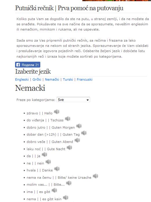 Nemački Rečnici Na Netu Sa Prevodom Preporuke Abc