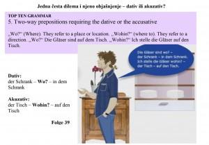 nemacki dativ akuzativ