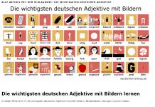 nemacki pridevi lista 200 najvaznijih