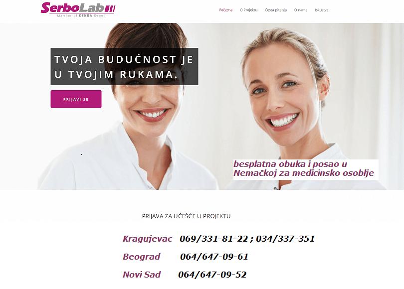 Serbo_Lab_nemački besplatana obuka za medicinare