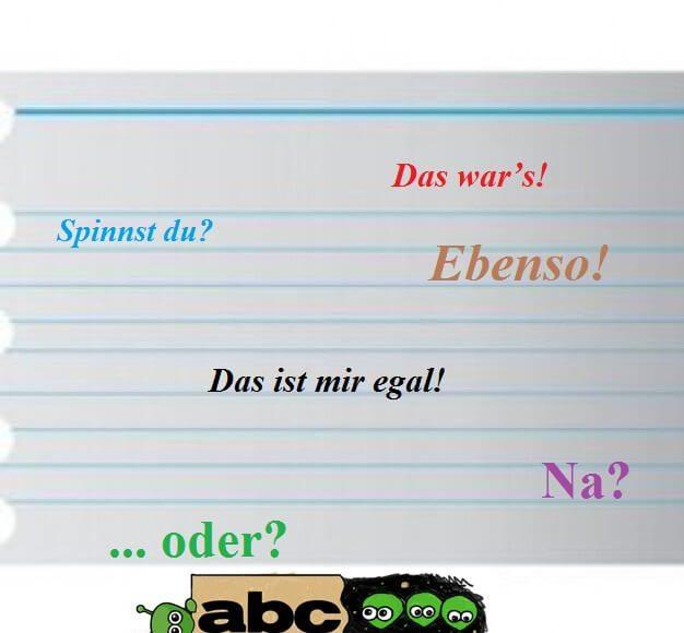 nemacki izrazi za svaki dan