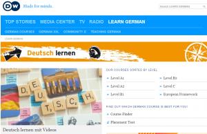 Deutshe Welle za saostalno učenje nemačkog