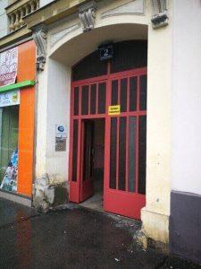 nemački Beč škola ulaz zgrade_Germanica